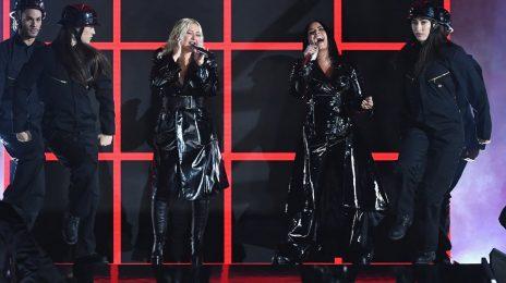 Billboard Boost: Christina Aguilera & Demi Lovato Blast Up iTunes Chart With 'Fall In Line'