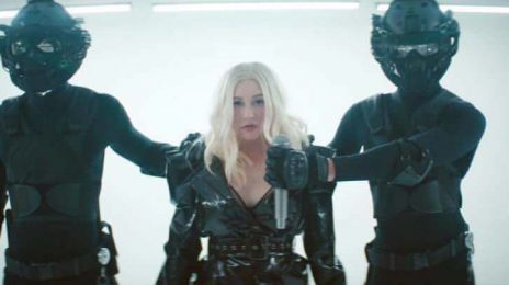 New Video: Christina Aguilera & Demi Lovato - 'Fall In Line'