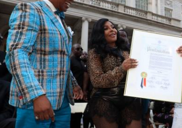 Watch: Lil Kim Honored For Contributions To Music During African-American Music Appreciation Month