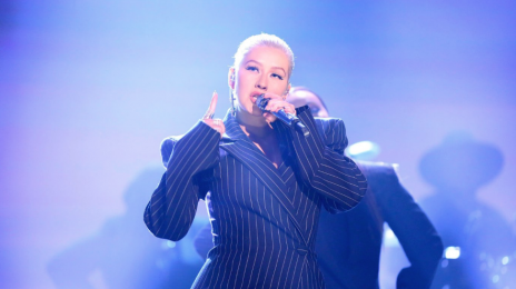 Watch: Christina Aguilera Rocks 'The Tonight Show' With 'Fall In Line'