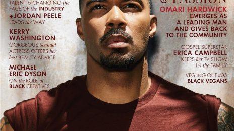 Hot Shots:  Omari Hardwick Heats Up the Pages of 'Ebony' [Photos]