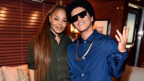 Report: Janet Jackson To Collaborate With Bruno Mars On New Album