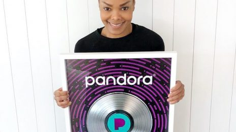 Janet Jackson Receives Pandora Plaque Honoring Over 1 Billion Streams