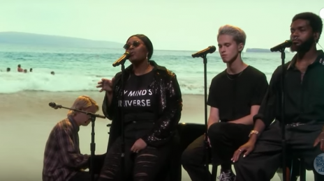 Did You Miss It? Jazmine Sullivan Joins BROCKHAMPTON For 'Tonight Show' Performance
