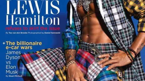 Lewis Hamilton Storms 'GQ' In Tommy Hilfiger