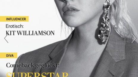 Christina Aguilera Covers Blu Magazine
