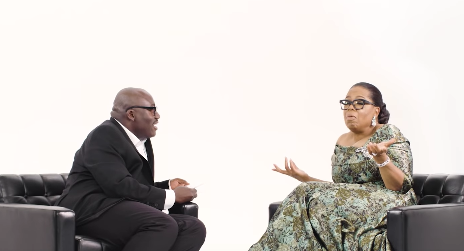 Watch: Oprah Winfrey Meets Edward Enninful