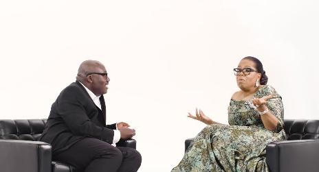 Watch: Oprah Winfrey Meets Edward Enninful