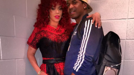 Official: Faith Evans Marries...Stevie J