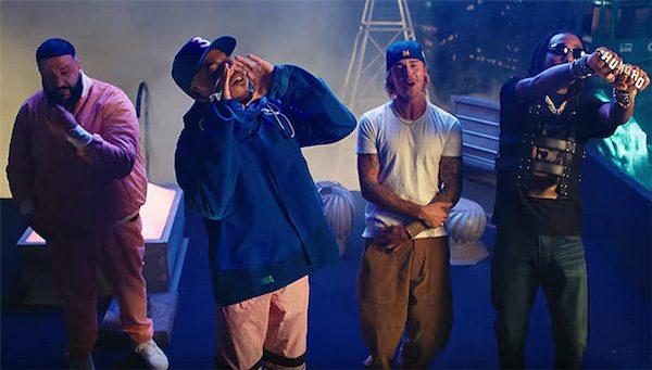 Resultado de imagen para DJ Khaled - No Brainer (Official Video) ft. Justin Bieber, Chance the Rapper, Quavo