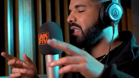 "Drake Blazes In 'Behind Barz' Freestyle For Link Up TV / Raps: ""Got All The Tea & I'm Hottin' It Up"""