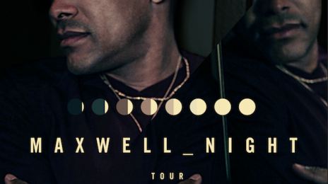 "Maxwell Announces ""50 Intimate Nights Live"" Tour"