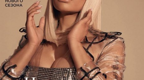 Nicki Minaj Heats Up Harper's Bazaar Russia