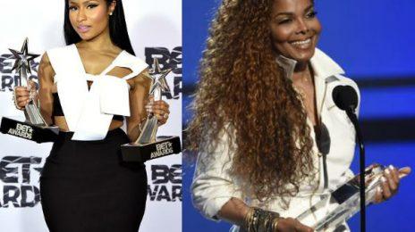 Janet Jackson Jams To Nicki Minaj's 'Chun-Li' At Panorama NYC [Video]