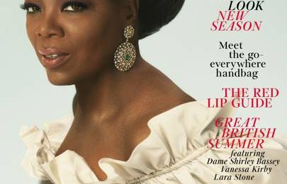 Oprah Winfrey Blazes British Vogue