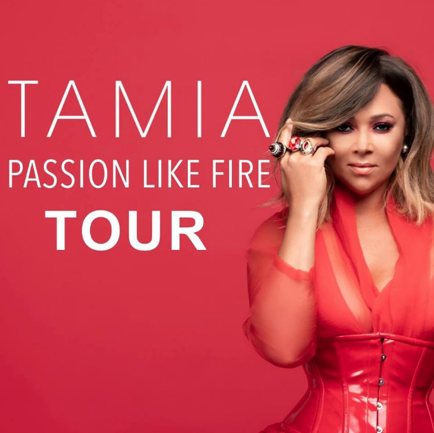 Tamia Announces Passion Like Fire North American Tour