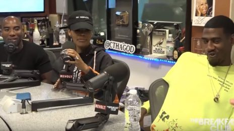 Teyana Taylor & Iman Shumpert Talk Threesomes, Album Frustrations, Janet Jackson, & More On 'The Breakfast Club' [Video]