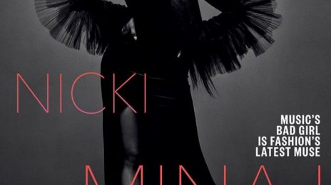 Nicki Minaj Covers 'Vogue Arabia'