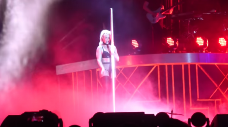 Britney Spears Revisits 'Black Out' In Brighton