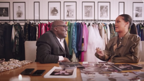 Watch: Rihanna Meets 'Vogue' Boss Edward Enninful