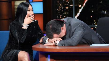 Watch: Nicki Minaj Takes 'Queen' To 'Colbert'