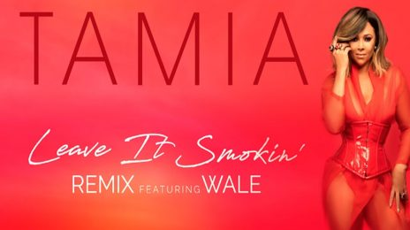 New Song:  Tamia - 'Leave It Smokin Remix' (featuring Wale)