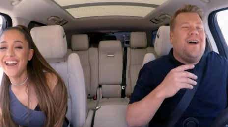 Ariana Grande Soars On 'Carpool Karaoke' [Video]