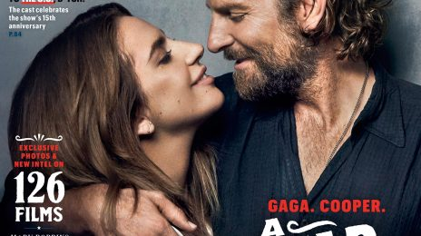 Lady Gaga & Bradley Cooper Cover Entertainment Weekly / Share 'A Star Is Born' Stills