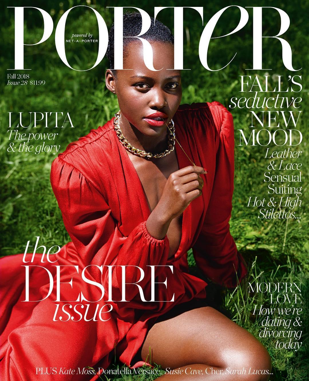 Lupita Nyong'o Covers PORTER Magazine / Talks Challenging