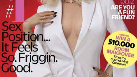 Christina Aguilera Covers Cosmopolitan