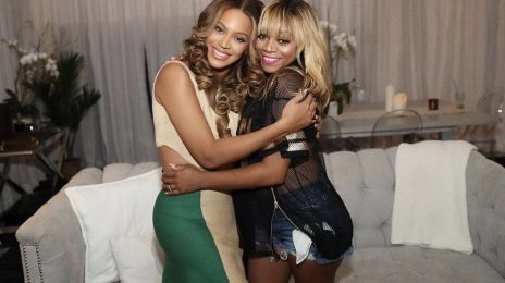 Beyonce & LaTavia Roberson Reunite At 'On The Run II Tour'