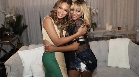 Beyonce & LaTavia Roberson Reunite At 'On The Run II Tour'