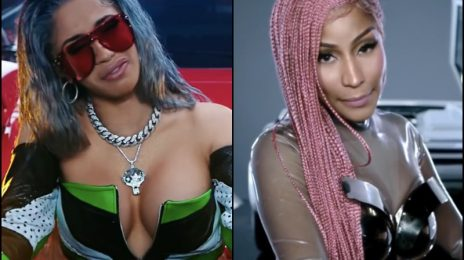 Cardi B Celebrates Nicki Minaj's Run In Hip-Hop