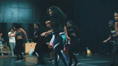 Behind The Scenes: Ciara Rehearses For 'Dose' Music Video