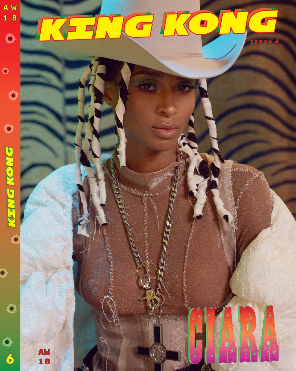 Ciara Covers King Kong Magazine [Full Shoot] - That Grape Juice