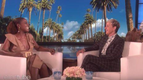 Issa Rae Visits Ellen / Spills On 'Insecure,' Emmys, & More
