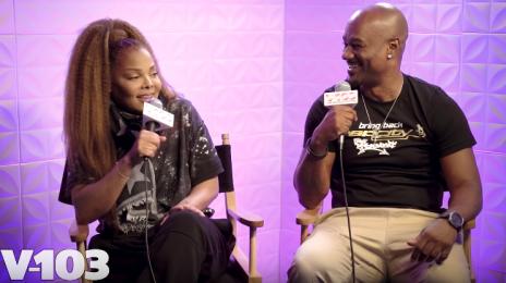 Janet Jackson Talks Comeback, Motherhood, & More On V-103