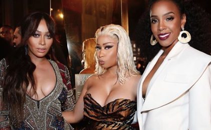 Kelly Rowland on Cardi B/Nicki Minaj Fight:  'There's No Time For Us As Women To Fight'