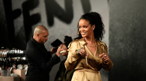 Rihanna Shines Bright Like Diamond In Dubai At Fenty Beauty Event