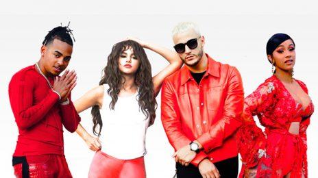 New Song:  DJ Snake - 'Taki Taki' (Featuring Cardi B, Selena Gomez, & Ozuna)