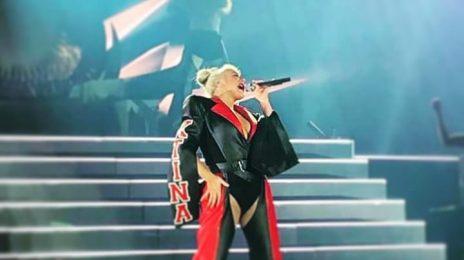 Christina Aguilera Kicks Off 'The Liberation Tour' With Slay Vocals & A Proposal