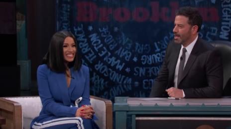 Watch: Cardi B Talks Fame, Conspiracy Theories & New Music On 'Kimmel'