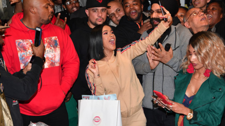 Cardi B Donates Winter Coats To Fans In New York