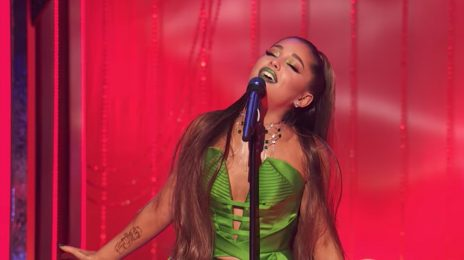 Watch:  Ariana Grande Emerges For First Performance Since Split From Pete Davidson