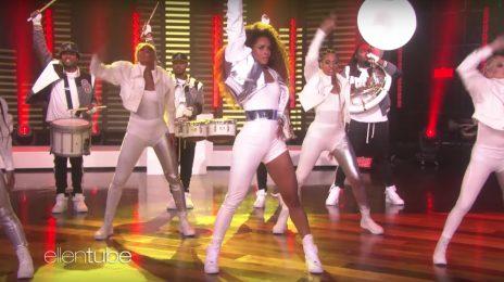 Ciara Delivers Explosive 'Level Up / Dose' Medley On 'Ellen' [Video]