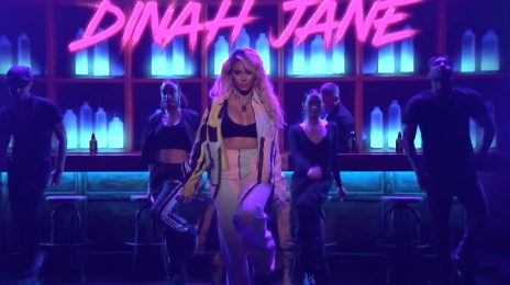 Fifth Harmony's Dinah Jane Delivers Dynamite Performance Of 'Bottled Up' On 'Fallon' [TV Debut]