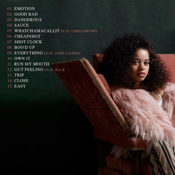 Chahunga Mai New Song: Ella Mai Reveals Album Tracklist / Taps Chris Brown, John