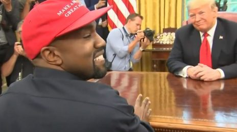 Kanye West Visits The White House / Likens Donald Trump To A Father Figure & Superman