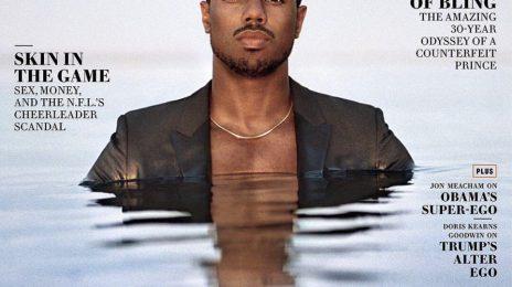 Michael B. Jordan Covers Vanity Fair / Explains His Plan To Advance Black Representation In Film