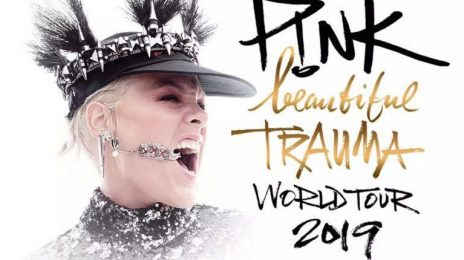 Pink Announces European Stadium Leg Of 'Beautiful Trauma Tour'